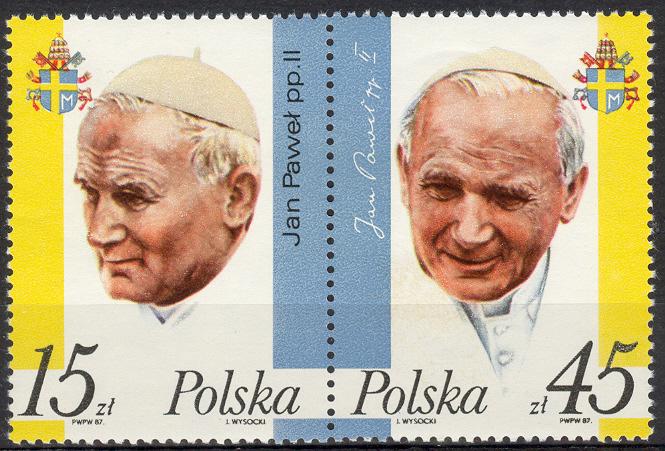 Muszę tutaj jednak dodać, że blok z okazji Beatyfikacji Papieża ...
